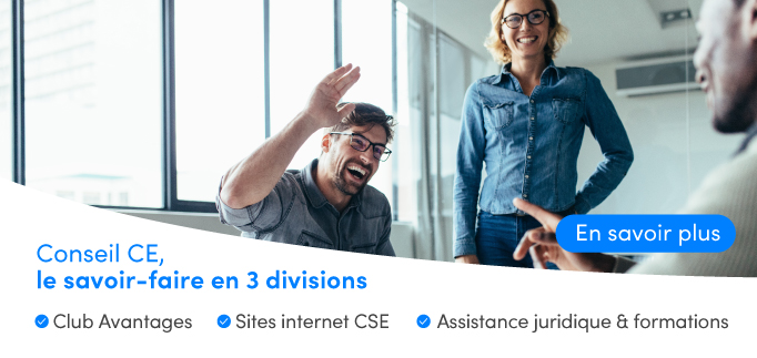 Avantages, site Internet, juridique... les solutions Conseil CE